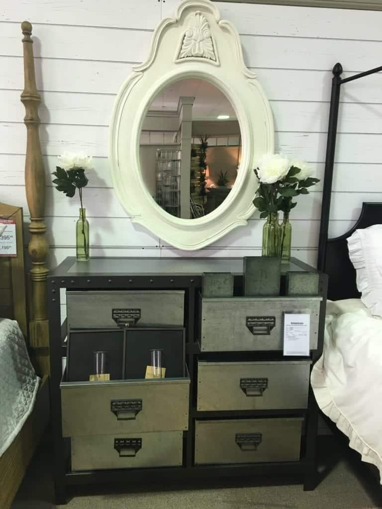 Mirror And Industrial Dresser Joanna Gaines Furniture