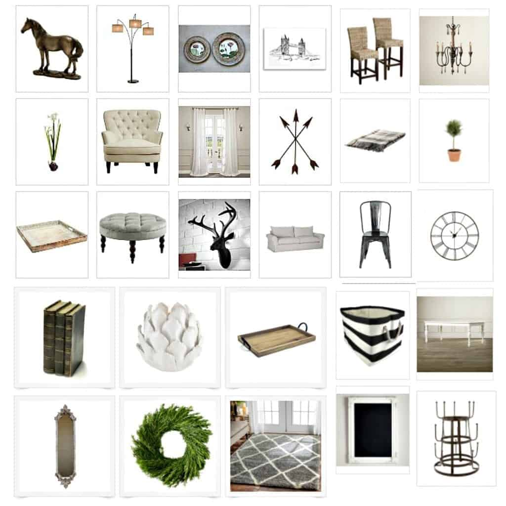 Shop My Home Collage