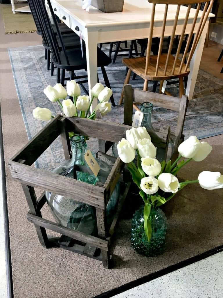 Tulips and Crates Joanna Gaines Furniture