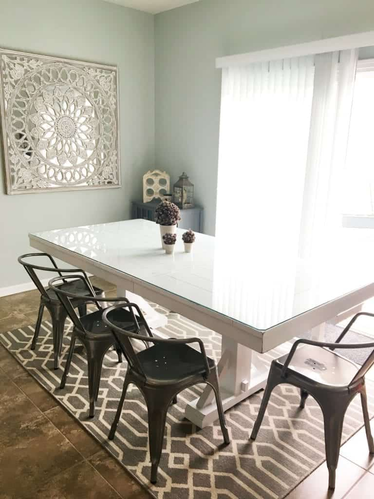 Dark Farmhouse Table Updated Snazzy Little Things