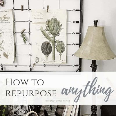 How To Repurpose Anything!