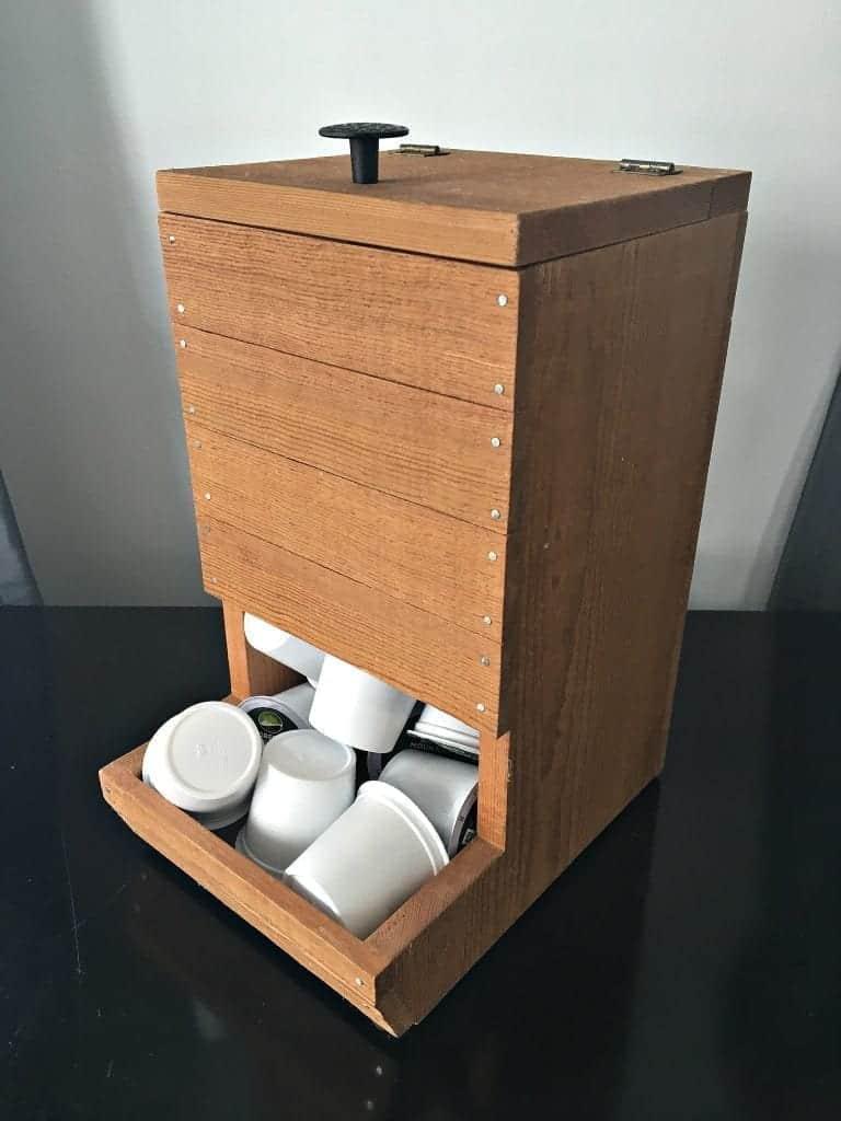 Snazzy Keurig Holder, wooden Keurig Holder, Keurig Dispenser