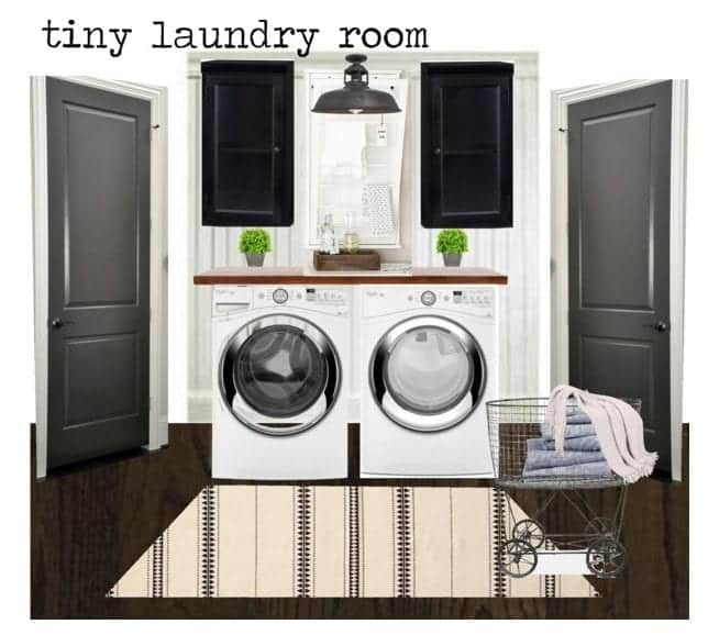 Laundry Room Design Option 2