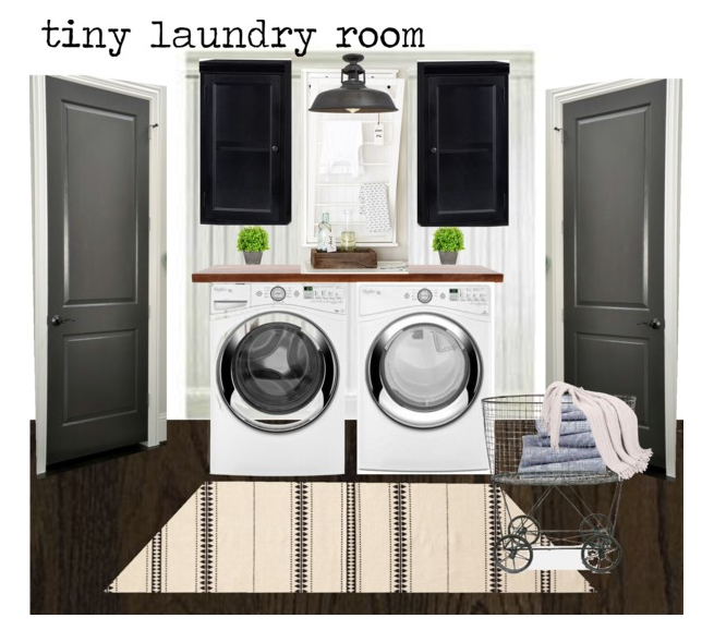Laundry Room Design Option 2
