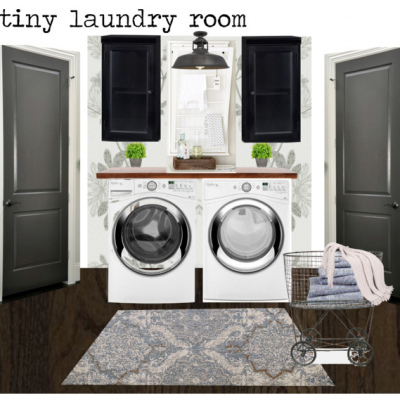 Laundry Room Design Plan