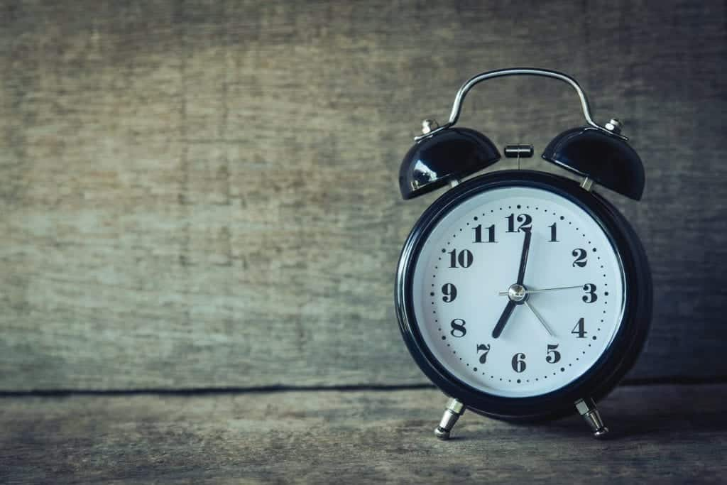 3 Home Office Essentials vintage alarm clock