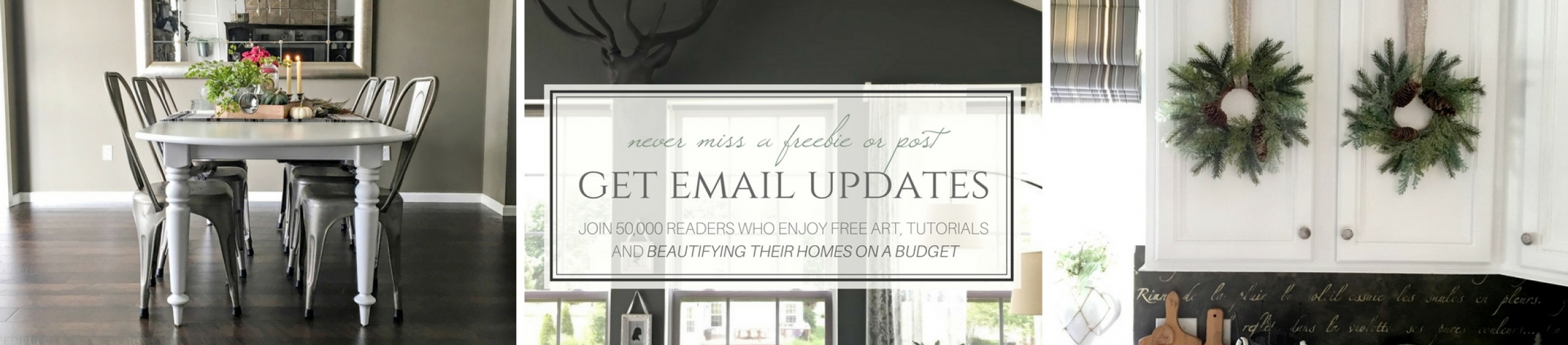 Get Email Updates at Snazzy Little Things