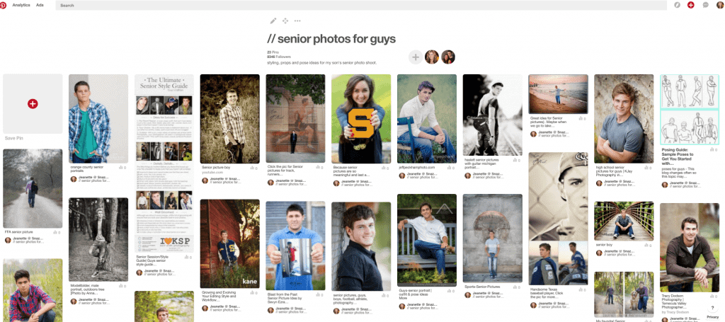 Senior Photo Ideas for Guys on Pinterest