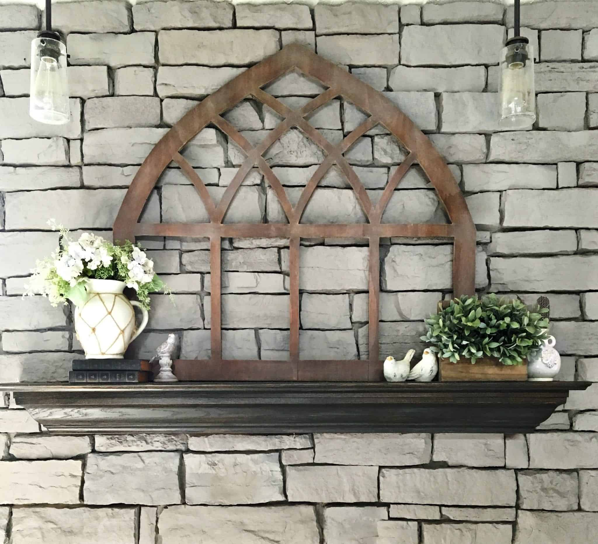 DIY (Reversible!) Cathedral Window Frame