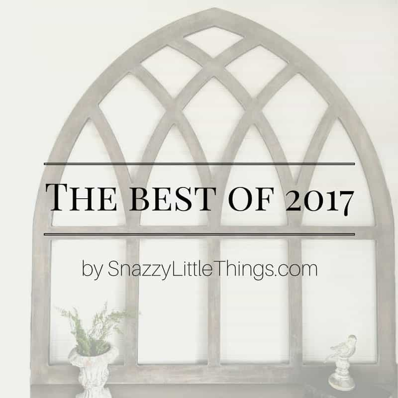 Best DIY And Decorating Posts of 2017 by Snazzy Little Things
