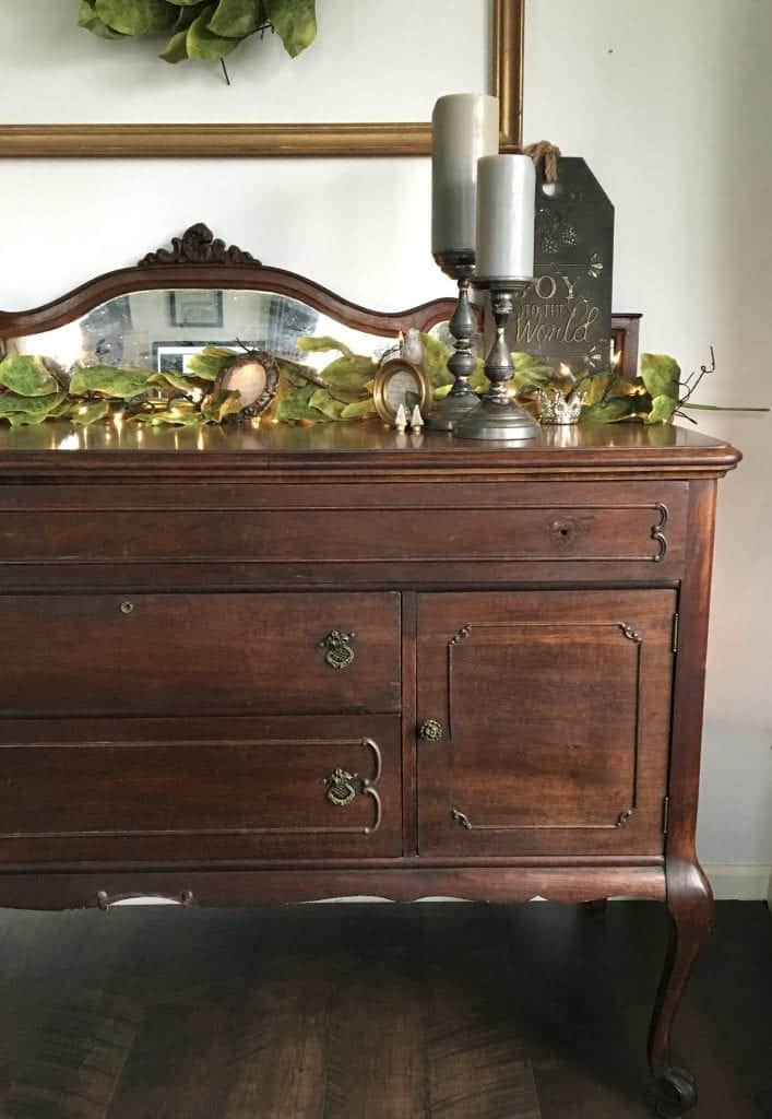 Found antique buffet 50 dollars right side 1
