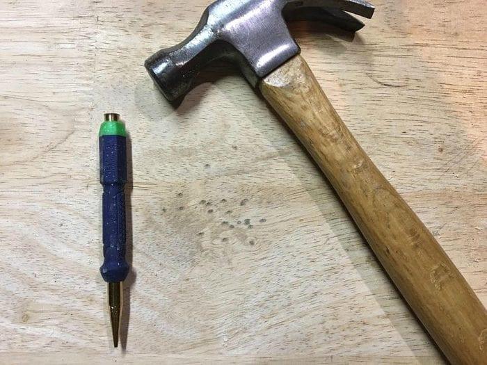 Distressed Wormhole DIY method