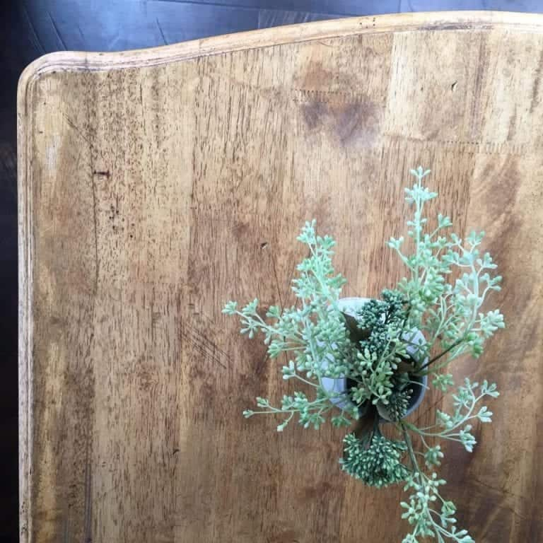 Rustic Farmhouse Table Makeover with Danish Oil