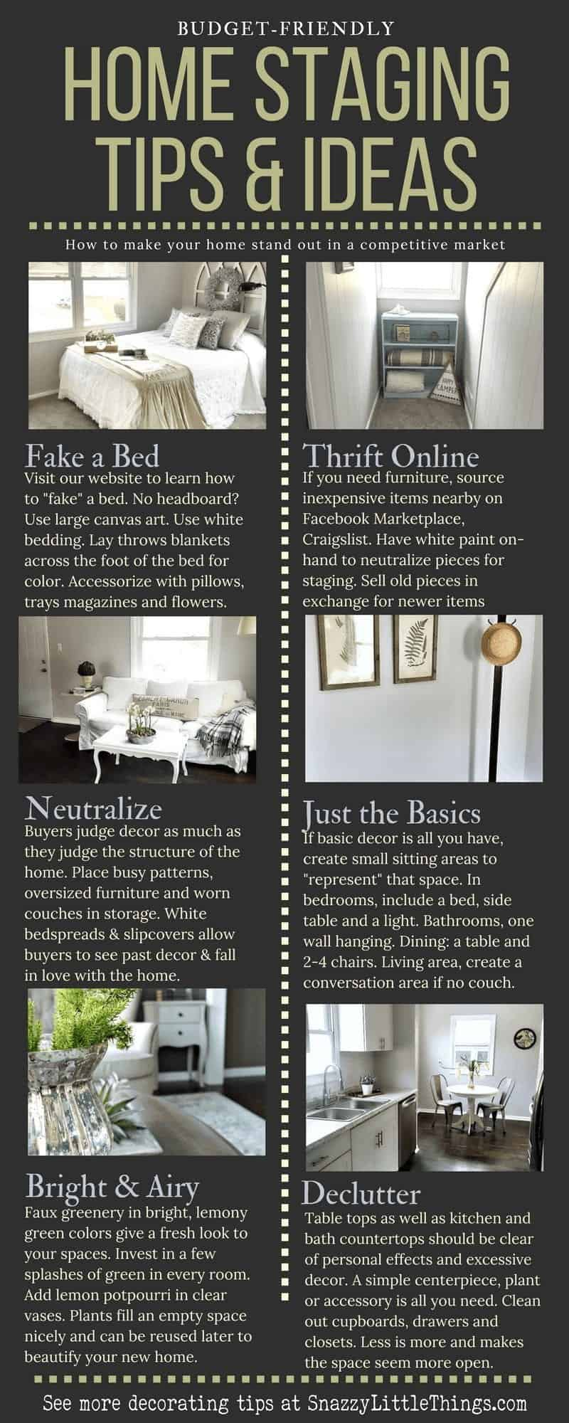 Home Staging How to stage your home for resale