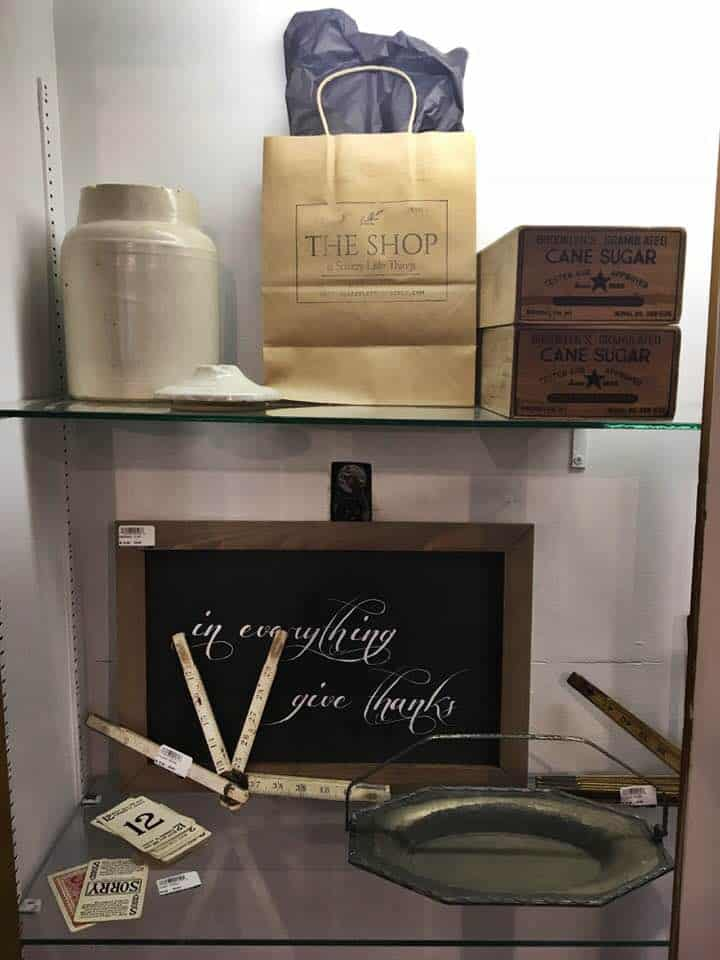 Store Tour Snazzy Little Things Display Case merchandise