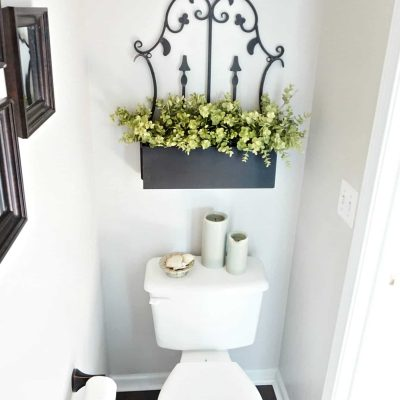 Powder Room in Foyer