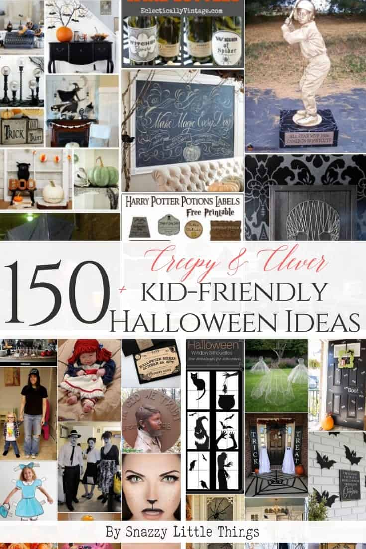150+ Kid-Friendly and Gore-Free Halloween Ideas