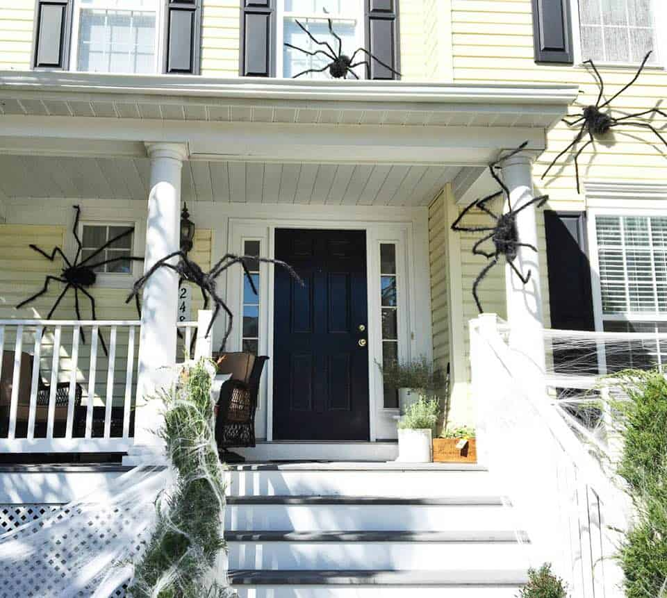 Halloween Front Porch 2018