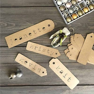 DIY Paper Gift Tags