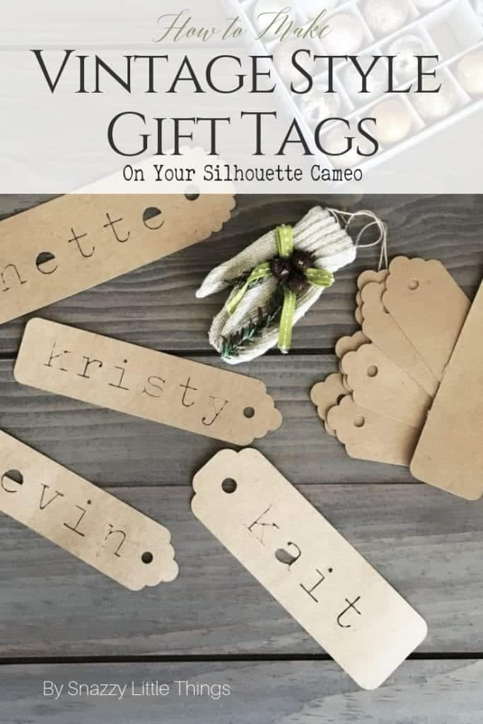 How to Make Personalized Gift Tags on Your Silhouette Cameo