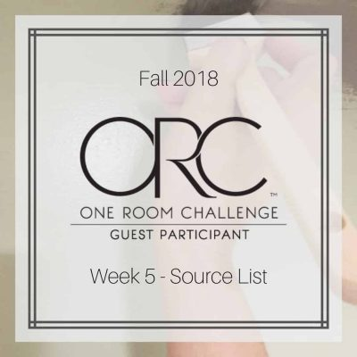 Week 5: $87 Left in Budget for Guest Bedroom