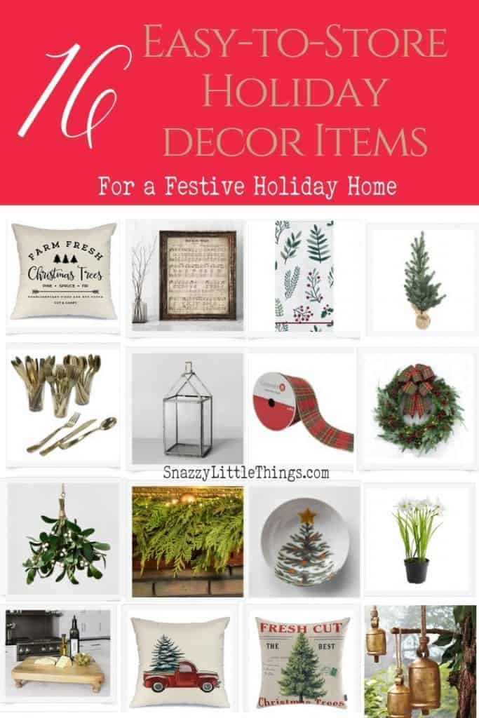 16 Easy To Store Items For A Festive Holiday Home Snazzy Little Things