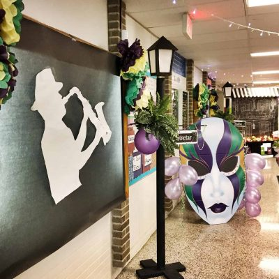 Mardi Gras Decorating Ideas for Prom