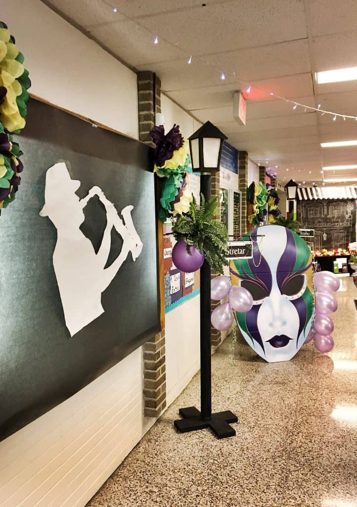 Mardi Gras Decorating Ideas For Prom Snazzy Little Things