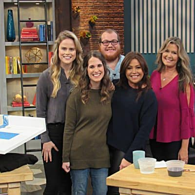 On TV with Rachael Ray!
