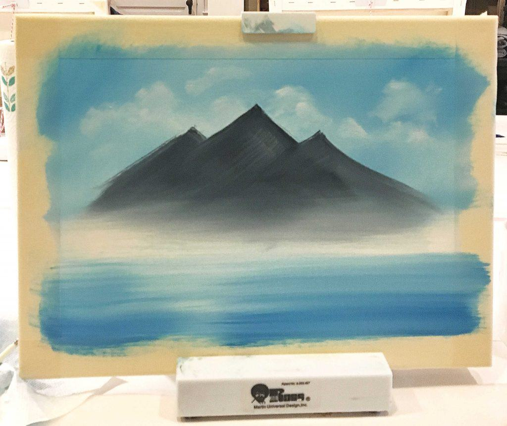 We Tried Our 1st Bob Ross Paint Class Heres What Happened