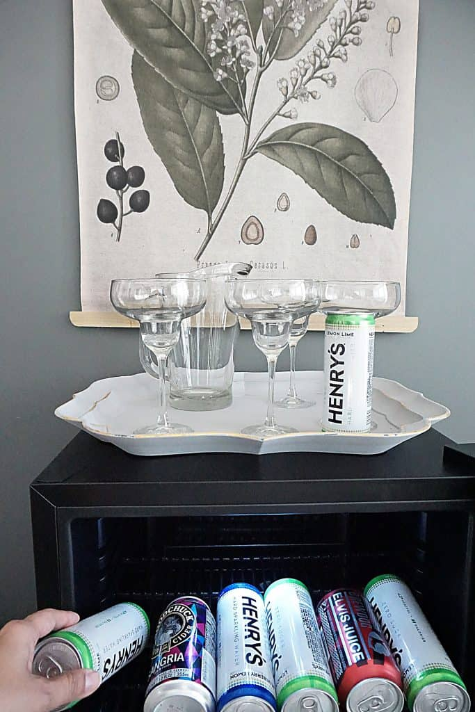 New Air Built In Beer Fridge In Formal Dining Room