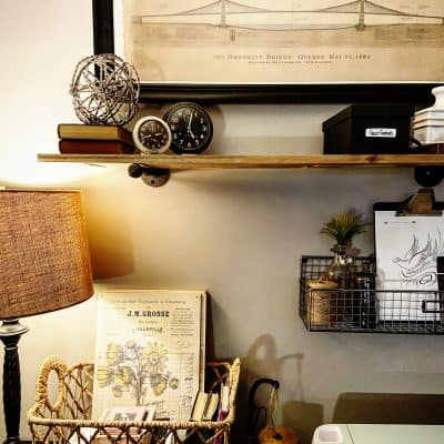 Industrial Craft Room Wall Decor