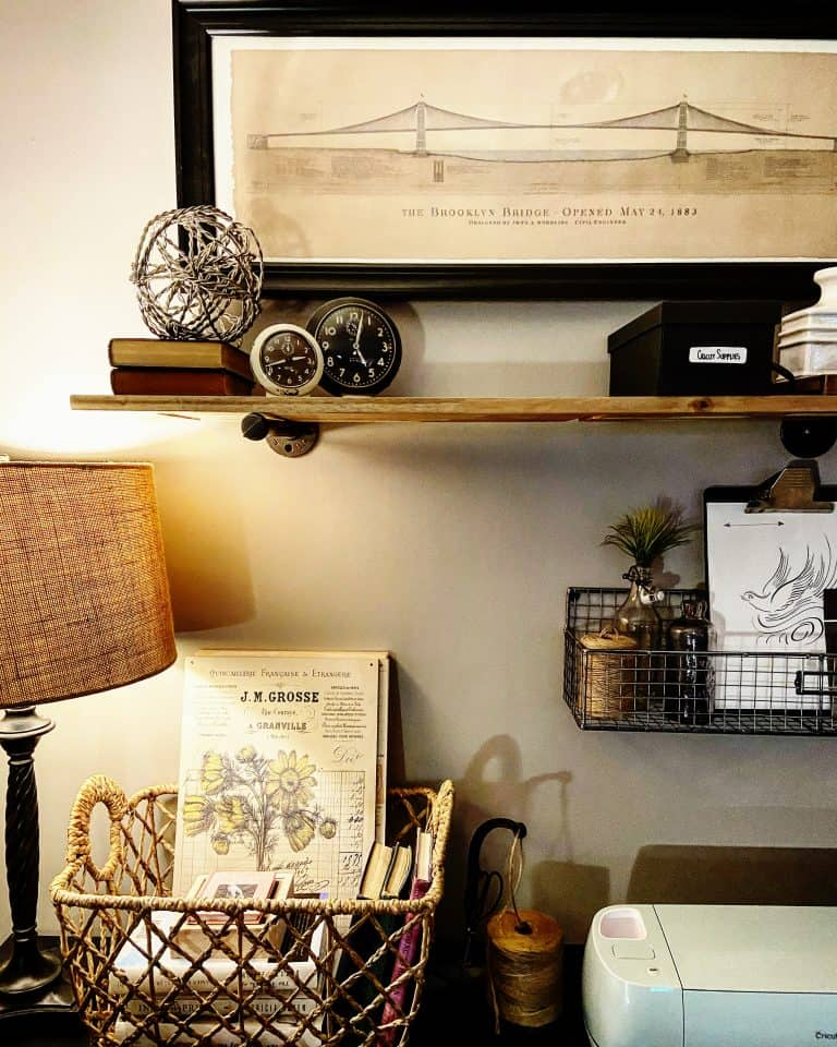 Industrial Style Cricut Craft Space