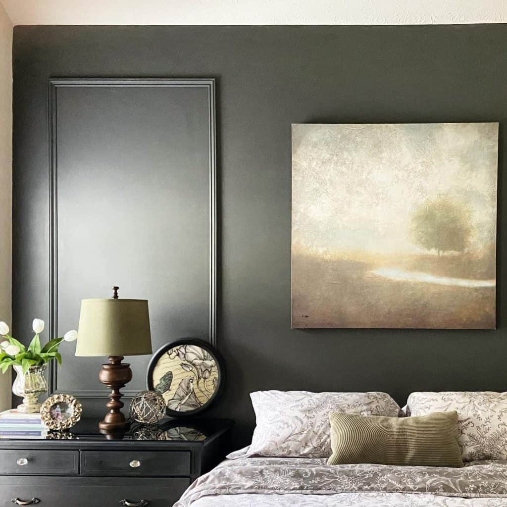 Master Bedroom Wall Color Update