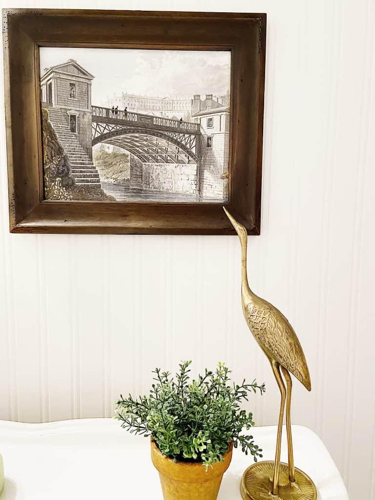 Rustic Elegant Guest Bath Reveal Vintage Crane Beadboard walls