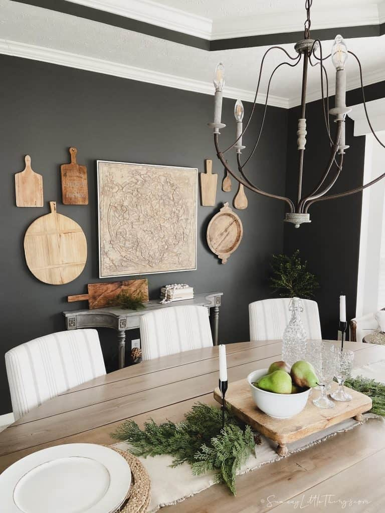 Cutting Board Gallery Wall