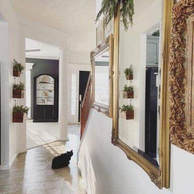 Vintage Mirror Gallery Wall