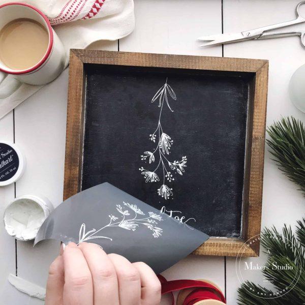Mistletoe Holiday Mesh Stencil Pack