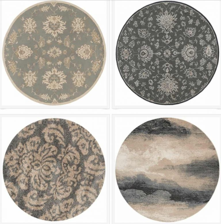 21 Round Rugs for Every Budget