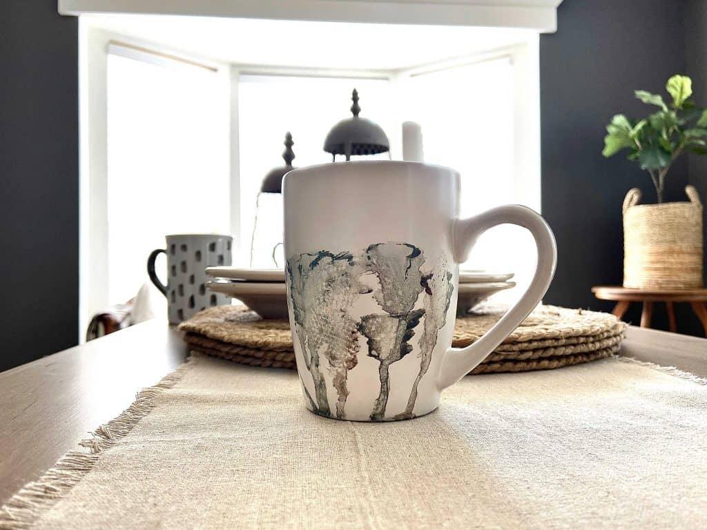 Watercolor Mugs Organic Style