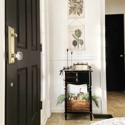 Black Interior Doors: BEST Paints to Use